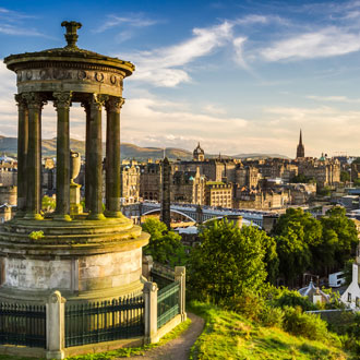 eco-friendly destinations to visit in the UK - Edinburgh